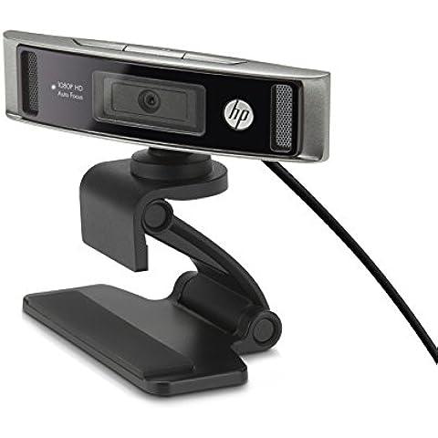 HP HD 4310 - Webcam (1080p, 30 fps), negro