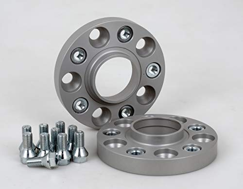 Preisvergleich Produktbild Spurverbreiterung Aluminium 2 Stück (20 mm pro Scheibe / 40 mm pro Achse) inkl. TÜV-Teilegutachten & ABE