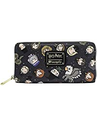 Loungefly Harry Potter Chibi Character Zip Around Wallet fe98763ffc1