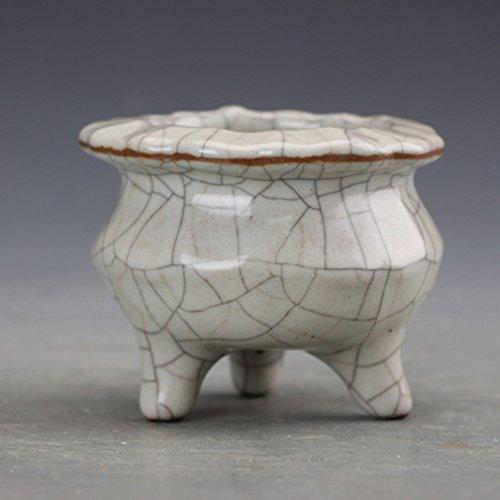 L Y Alte Porzellan Ornamente Antiquitäten Antiquitäten Antike Sammlung Der Qing-Dynastie Geyou Glasur Stativ Heim Handwerk,A (Für Möbel Antiquitäten Glasur)