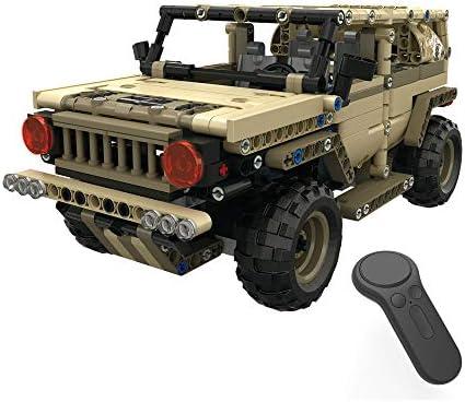 AmaMary camions rc rc rc Militaires Bricolage, Blocs de Construction de 1:18 2,4 GHz 538 PCS Assembler Un Camion Militaire | La Qualité Primacy  acf166