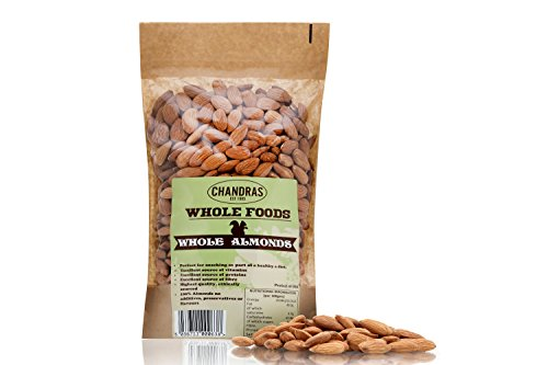 Chandras Whole Foods - Almonds (1kg)