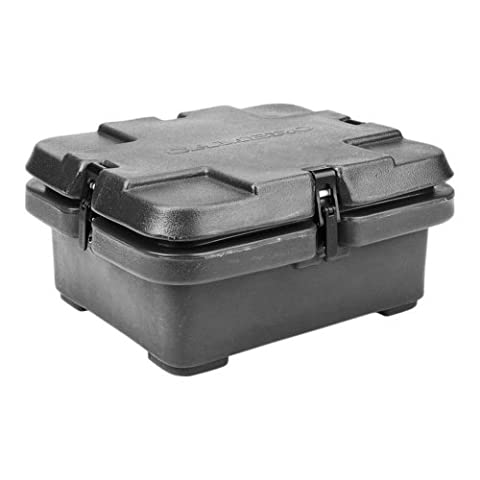 Cambro 240MPC-110 Camcarriers Polyethylene Insulated Top Load Food Pan Carrier Cart, Black by Cambro