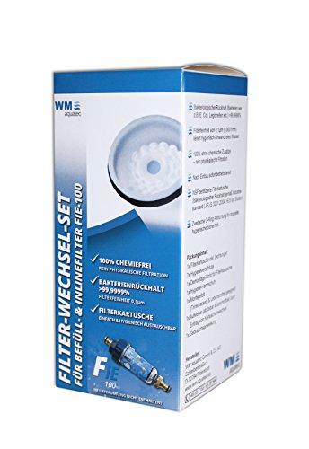Filter-Wechsel-Set für Befüll- & Inlinefilter FIE-100