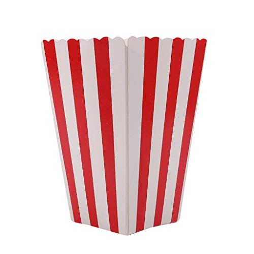 Ogquaton Premium 12pcs Popcorn Boxes Bolsas Holder