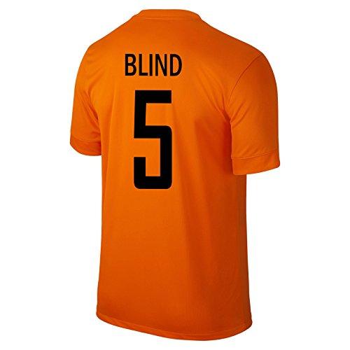 Blind # 5 Holland Home Trikot 2014/15 (S)