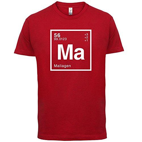 Malia Periodensystem - Herren T-Shirt - 13 Farben Rot
