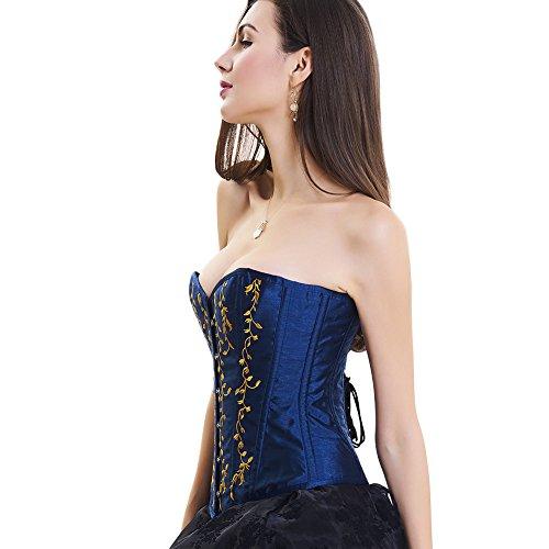 Lover-Beauty - Bustino -  donna Blu/Oro