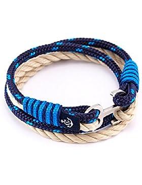 Constantin Nautics Armband 9019 Modeschmuck Herren Damen Maritim Freundschaftarmband aus Segeltau Paracord
