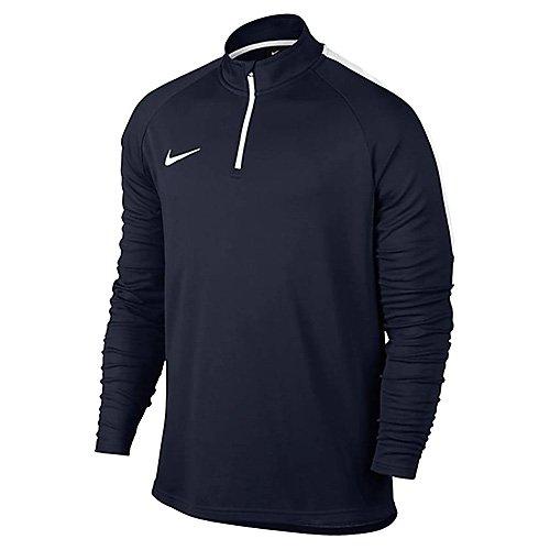 Nike M Dry Drill acdmy–Top maniche lunghe per uomo azul  (obsidian / blanco / blanco)