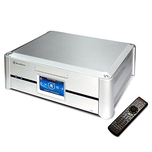 SilverStone SST-GD02S-MT Silber PC Gehäuse Desktop 3 x 3.5 Silber