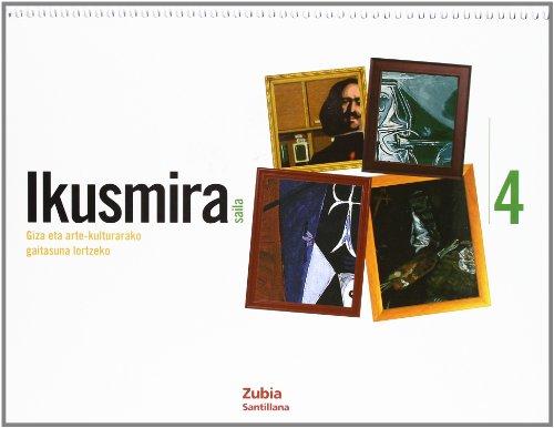 Giza Eta Arte Ikusmira Saila 4 Euskera Zubia - 9788498940855
