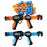 Hog Wild Atomic Power Popper x 2 Battle Pack. 2 Pistolas y 72 Bolas de...