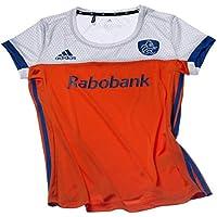 47b0530e39e57 adidas Official KNHB Netherlands Replica Womens Hockey World Cup Home  Jersey Top Tee Shirt