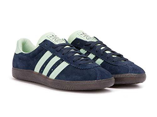 adidas Herren Padiham Spezial Hohe Sneaker, Blau Navy Blue/Green, 38 EU