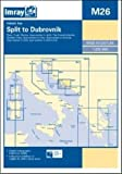 Imray Chart M26: Split to Dubrovnik