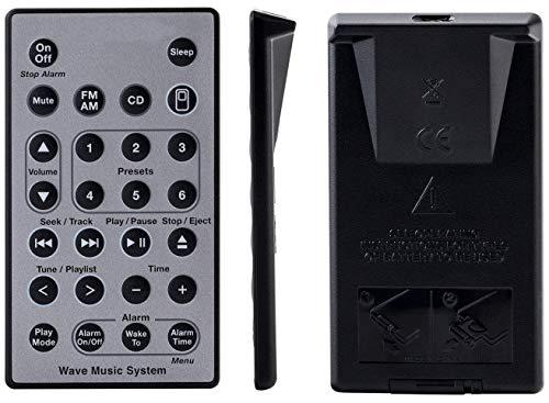 Ersatz Fernbedienung für Bose Soundtouch Wave Musik Radio/CD-System 1   2   3   4   5 (Bose-radio-cd-fernbedienung)