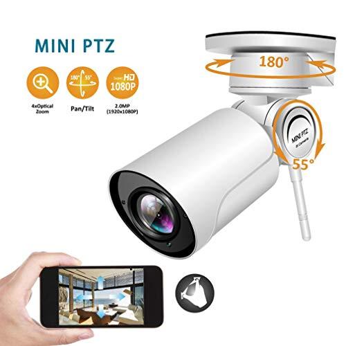LYC&LJM 3,6 mm Feste Fokussierung mit Sound HD Webcam 1080P Outdoor IP66 wasserdichte WiFi-Fernüberwachungskamera mit 30M Nachtsicht,3.6mmfixedfocus+16GB - Im Web-kamera Freien
