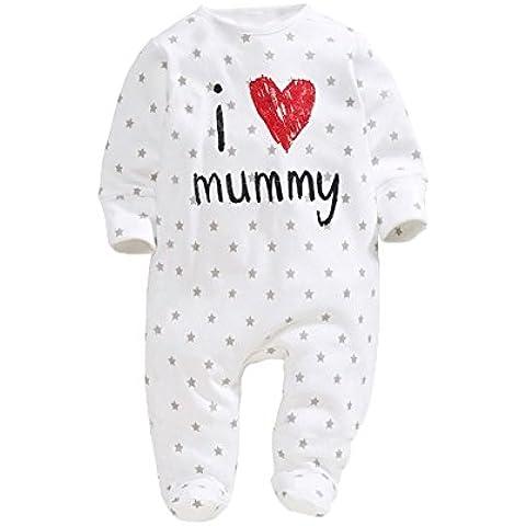 Del bebé con un estilo rústico * de herramientas del Pelele se para un recién nacido de un corazón de la momia traje del bebé de la carrocería color blanco y negro la ropa de los invierno Mono corto de ropa de bebé plegada con