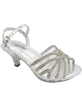 London Footwear Kirstin - Sandalias de tacón bajo para chica