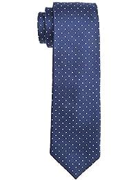 Tommy Hilfiger Tailored Tie 7cm TTSDSN17111, Cravate Homme, Bleu (Blau), Taille unique ( OS)