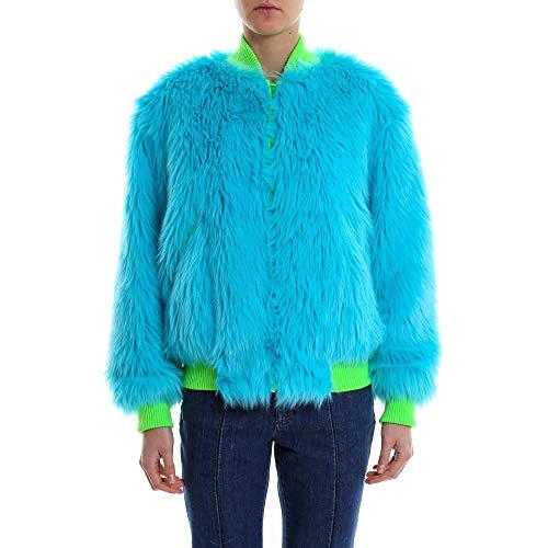Alberta Ferretti Damen V06131686313 Hellblau Polyester Jacke