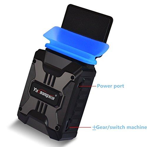 Txyk Tragbare Mini Laptop Kühler Vakuum Air Extrahieren Kühlung Cooling pad - Unterstützung verschiedener Größe 14in zu 17in Laptop/Notebook - Stromversorgung über USB Laptop Notebook Cpu