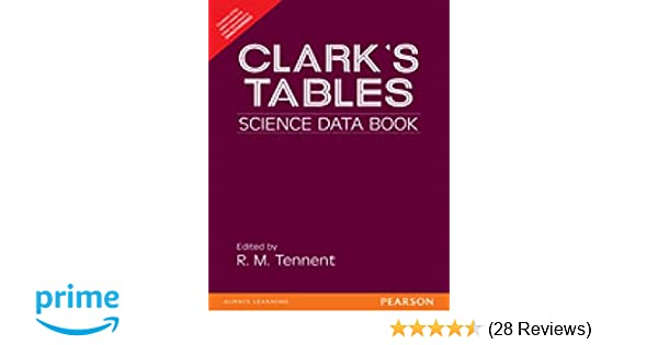 Clarks Table Pdf