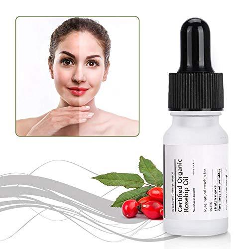 Suero Facial,10ML Efecto Antiarrugas Y Antimanchas SéRum Nocturno Facial SéRum Antiedad Y Antiarrugas Certificado OrgáNico