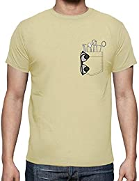 latostadora - Camiseta Bolsillo Dentista para Hombre