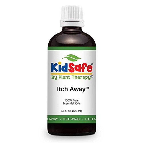Plant Therapy KidSafe Itch Away Synergy Essential Oil 100 mL (3.3 oz) 100{82774053b5230d457ac0c6624757299dd26f11032b096ba07ca2e9ec5fbfd614} Pure, Undiluted, Therapeutic Grade