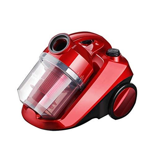 Licy Aspirapolvere Domestico tenuto in Mano Mute Forte rimozione acaro Tappeto ad Alta Potenza 220V 1420W Cavo Automatico Cavo di Alimentazione Lunghezza 5 Metri (Colore : Red)