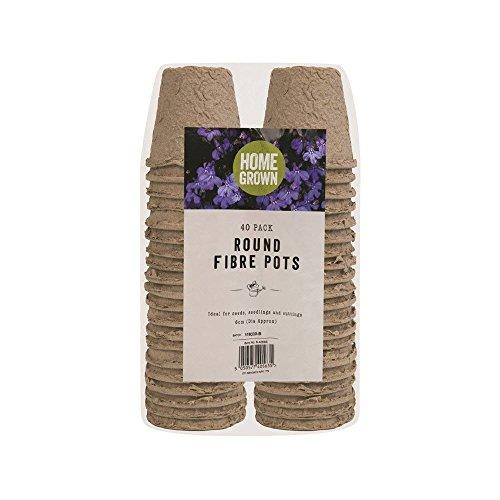 40-x-6cm-biodegradable-fibre-plant-pots-growing-garden-seed-flower-potting-1-pack-of-40