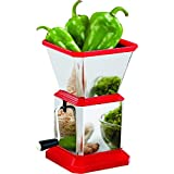 Vivir High Quality Stainless Steel Chilly Cutter, Onion Chopper, Dry Fruit Crusher & Vegetable Cutter
