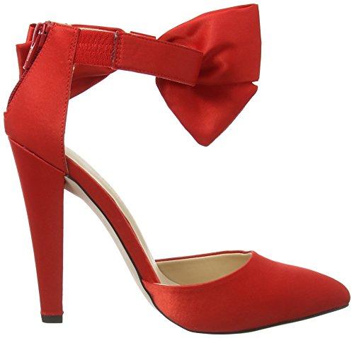 Little Mistress - Fortuna, Scarpe col tacco Donna Rosso (Rosso (rosso))
