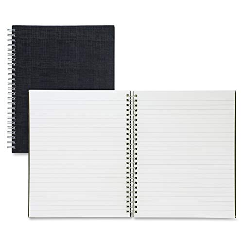 Sparco Twin-Wire 9 x 7 Inches Linen Notebook (SPR17709) by Sparco (Notebook Paper 7 X 9)
