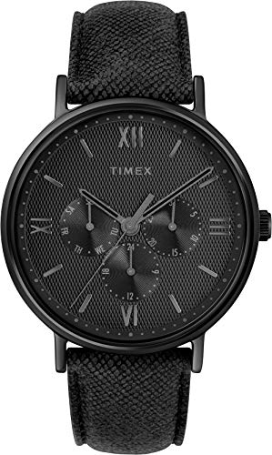 Timex Mens Analogue Classic Quartz Watch with Leather Strap TW2T35200 Best Price and Cheapest