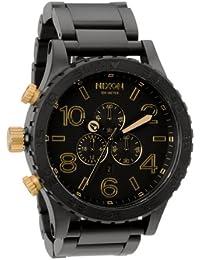 Nixon Unisex-Armbanduhr The 5130 Chrono Chronograph Quarz Edelstahl A0831041-00