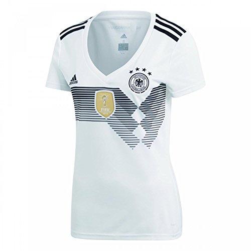 adidas Damen DFB Home 2018 Trikot, White/Black, 2XL