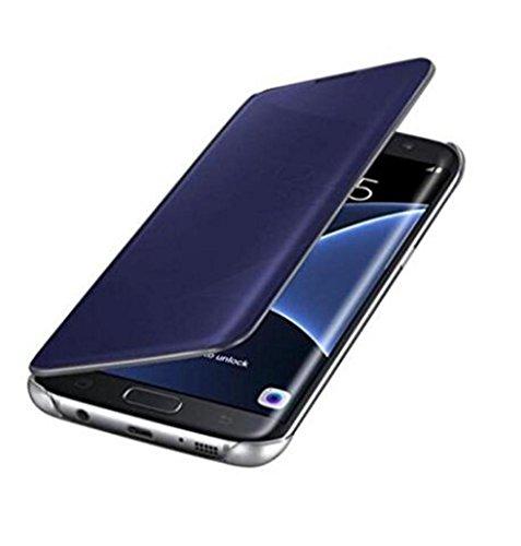 Qissy® Wallet case Custodia a portafoglio per Samsung Galaxy S6 Custodia flip cover in Design vortice floreale con scompartimento tessere e funzione supporto in Premio (3)