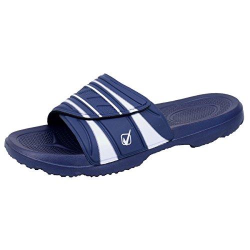 BOCKSTIEGEL® BORIS Mules Ciabatte infradito Ciabatte da piscina 41-46 Men, Colori:blue;Dimensioni:43