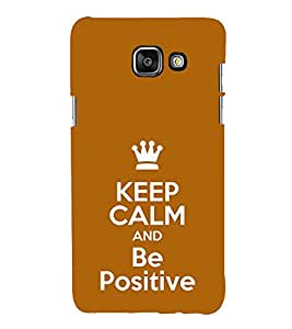 Life Quote 3D Hard Polycarbonate Designer Back Case Cover for Samsung Galaxy A3 (2016) :: Samsung Galaxy A3 2016 Duos :: Samsung Galaxy A3 2016 A310F A310M A310Y :: Samsung Galaxy A3 A310 2016 Edition