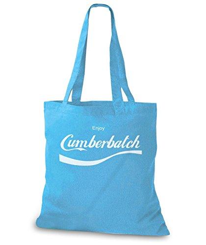 StyloBags Jutebeutel / Tasche Enjoy Cumberbatch Sky