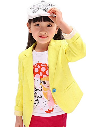 Girls-Cotton-Outerwear-Fit-Casual-Jackets-Suit-Blazers-Candy