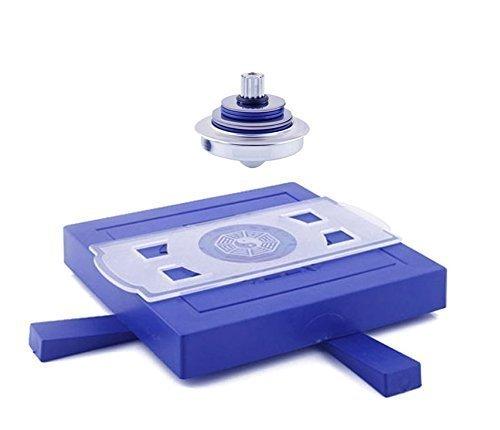 UChic 1 STÜCKE Wunderbare UFO Magnetschwebebahn Spinning Gyroskop Suspension Wissenschaft Spielzeug ausgesetzt Spielzeug Magnetschwebetechnik UFO Spielzeug