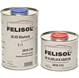 1,5 L Set felisol 2 K HS Vernis transparent anti-rayures 2 : 1 point Vernis Brillant voiture tuning