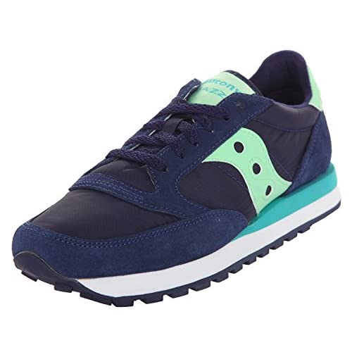 414y9JX9nML. SS500  - Saucony Women Sneakers Jazz Original Navy-Mint S1044-344