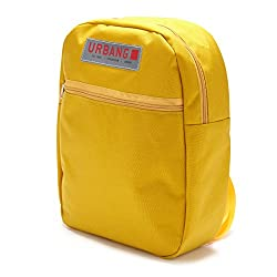 Urbang - Stockholm - Backpack - Lifetime Warranty (Yellow) - Super Modern Unisex Nylon School Bag Waterproof Hiking Backpack Cool Sports Backpack Laptop Bag For Men's Women's