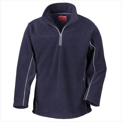 Tech3 Fleece-Sportsweatshirt mit 1/4 Reißverschluss XL,Navy/Navy