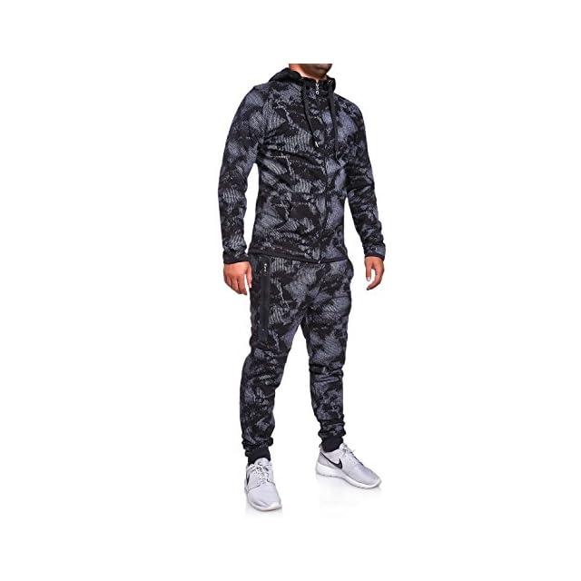 89f04f8e17 MT Styles Ensemble Pantalon de Sport + Sweat-Shirt Jogging survêtement R-739  ...